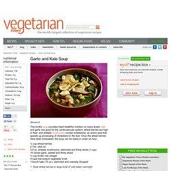 Garlic and Kale Soup Recipe