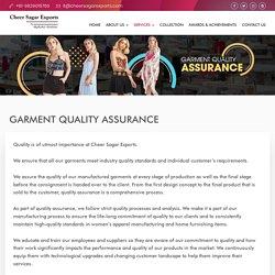 Ready-made Garment Quality Assurance