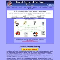 Direct-to-Garment-Printing, Custom Screen Printing, DTG Printing, Direct to Garment Application, chicago screen printing