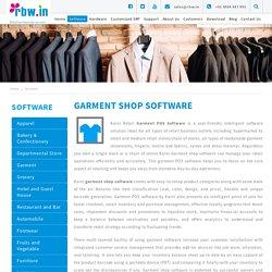 Garment Shop Software