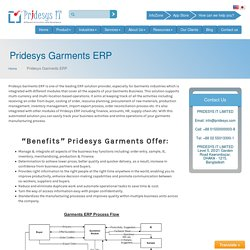 Garments Erp Software In Bangladesh
