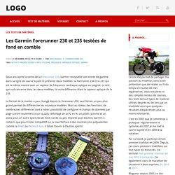 Les Garmin Forerunner 230 et 235 testées de fond en comble - nakan.ch