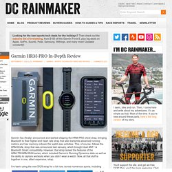 Garmin HRM-PRO Heart Rate Strap In-Depth Review