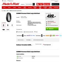 GARMIN Vivosmart Black Large Akıllı Bant Saatler
