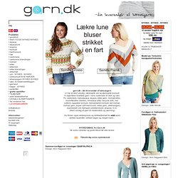 garn.dk - your supplier of luxury yarns
