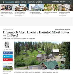 Garnet Ghost Town - Stay for Free in Ghost Town