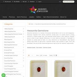 Buy Garnet Hessonite Gemstone For Rahu, Gomed Stone Price