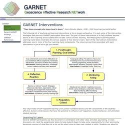 GARNET Interventions