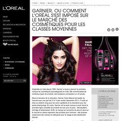 Garnier, ou comment L'Oréal s'est imposé sur le marché des cosmétiques pour les classes moyennes-L'Oréal Groupe