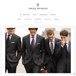 Jak nosić garnitur? 15 żelaznych zasad — Jakub Roskosz