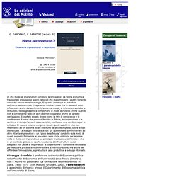 GAROFALO G., SABATINI F. (a cura di), Homo oeconomicus?