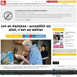 Lot-et-Garonne : accueillir un aîné, c'est un métier - 10/11/16