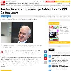 André Garreta, nouveau président de la CCI de Bayonne