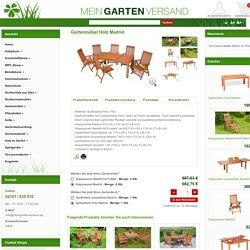 Ausziehbarer Gartentisch von meingartenversand.de