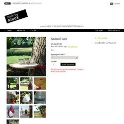 Baumtisch, Gartenmöbel, StammTisch - Einfach mit Spanngurt befestigen - NIRUK Shop