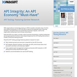 Gartner API Testing Research