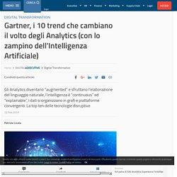 Gartner, i 10 trend che cambiano il volto degli Analytics all'insegna dell'AI