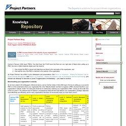 Gartner PPM Maturity Model