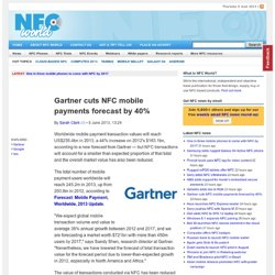 Gartner cuts NFC mobile payments forecast by 40%