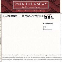 Bucellatum - Roman Army Biscuits