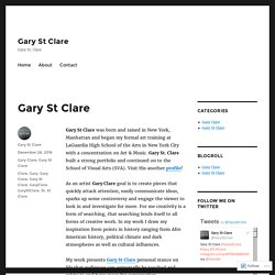 Gary St Clare – Gary St Clare