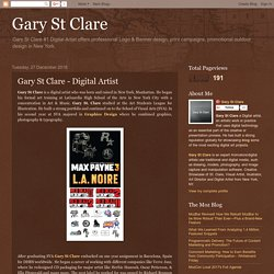 Gary St Clare: Gary St Clare - Digital Artist