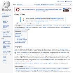 Gary Webb wikipedia