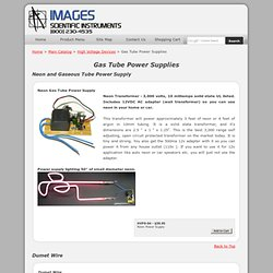 Gas Tube Sign Power Supply