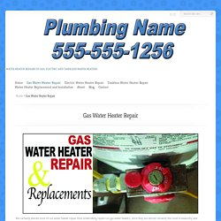 Water Heater Repair Omaha