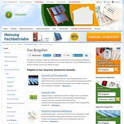 Ratgeber zum Gasanbieterwechsel, Gasbezug, Gastarifen & Preisen