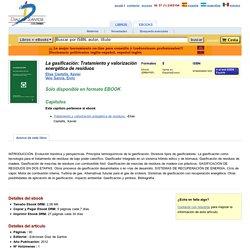 Ediciones Díaz de Santos Colombia: eBook La gasificación: Tratamiento y valorización energética de residuos Elias Castells