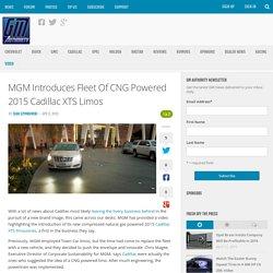 MGM Natural Gasoline 2015 Cadillac XTS Limo