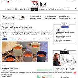 Gaspacho à la mode espagnole