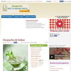 Gaspacho de laitue