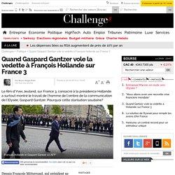 Quand Gaspard Gantzer vole la vedette à François Hollande sur France 3