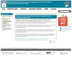 DRAAF OCCITANIE 20/11/14 Un guide de bonnes pratiques pour réduire le gaspillage dans les industries agroalimentaires
