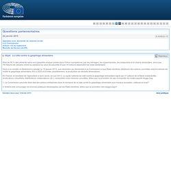 PARLEMENT EUROPEEN - Réponse à question E-000832-15 La lutte contre le gaspillage alimentaire