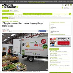 NOUVELLE REPUBLIQUE 14/03/15 TOURS - L'Agglo se mobilise contre le gaspillage alimentaire