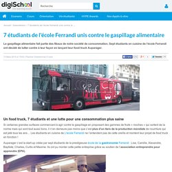 DIGISCHOOL 13/03/15 7 étudiants de l'école Ferrandi unis contre le gaspillage alimentaire