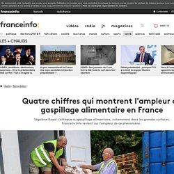 Quatre chiffres qui montrent l'ampleur du gaspillage alimentaire en France