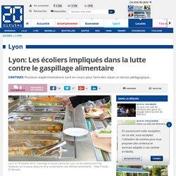 20MINUTES 16/10/15 Lyon: Les écoliers impliqués dans la lutte contre le gaspillage alimentaire
