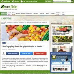 CONSOGLOBE 25/11/15 Loi sur le gaspillage alimentaire : qui peut récupérer les invendus ?