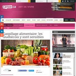 CANOE 16/10/15 Gaspillage alimentaire: les Québécois y sont sensibles