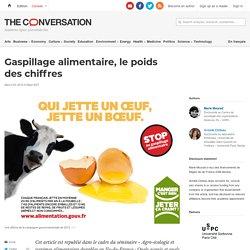 THE CONVERSATION 23/03/16 Gaspillage alimentaire, le poids des chiffres