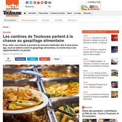 COTETOULOUSE 16/11/16 Les cantines de Toulouse partent à la chasse au gaspillage alimentaire