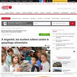 À Argentré, les écoliers luttent contre le gaspillage alimentaire