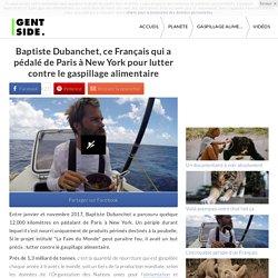 Baptiste Dubanchet, ce Français qui a pédalé de Paris à New York pour lutter contre le gaspillage alimentaire