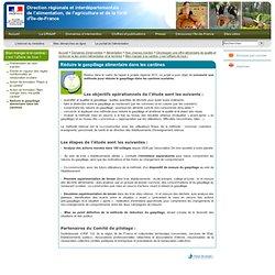 DRIAAF ILE DE FRANCE - Réduire le gaspillage alimentaire dans les cantines