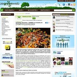 ZEGREENWEB 17/11/10 Gaspillage alimentaire : l'ADEME et le ministère de l'Ecologie tirent la sonnette d'alarme