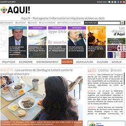 REGION AQUITAINE - 2013 - Les cantines de Dordogne luttent contre le gaspillage alimentaire